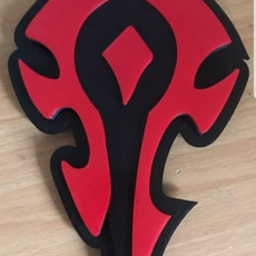 World of Warcraft Horde Light Up Wall Mount