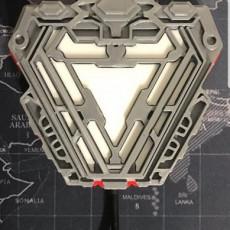 Tony Stark Light Up Reactor Core
