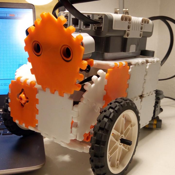 LEGO NXT Mindstorme Polypanels interface