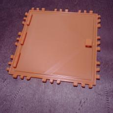 3x3 Square Door