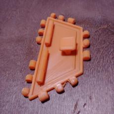Trapezoid Door