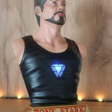 Tony Stark bust