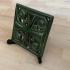 Art nouveau tile/plate stand image