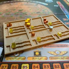 Terraforming Mars Player Tray