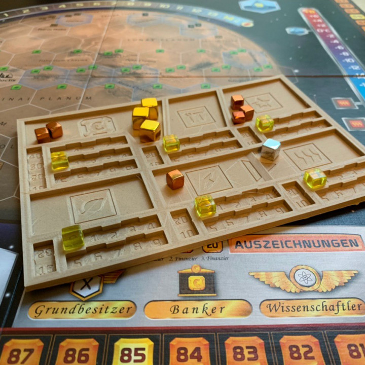 Terraforming Mars Player Tray