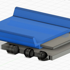 Polypanel Hot Wheels track support