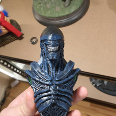 Picture of print of Xenomorph Bust  Wall Mount