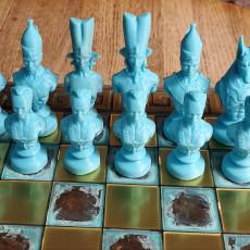 Egyptian Chess Alive vs Dead