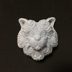 Picture of print of Decorative cat