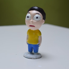 Picture of print of Tiny Morty:  Shocked version