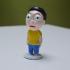 Tiny Morty:  Shocked version print image