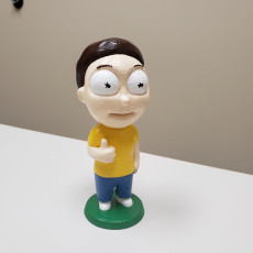 Picture of print of Tiny Morty: Thumbs up!