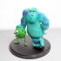 Mike and Sully From Monster inc image