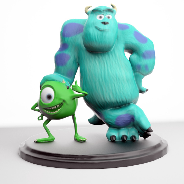 Mike and Sully From Monster inc