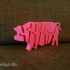 Flexi Articulated Pig Full image
