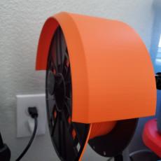 Prusa Filament Spool Cover - T Holder
