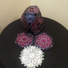 Fabric PolyPanels small Hexagon