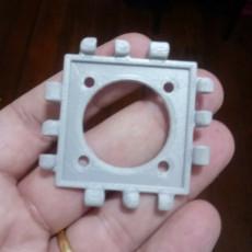 Polypanels // 30mm fan adapter