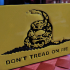 Don't Tred On Me Trailer Hitch Cover image