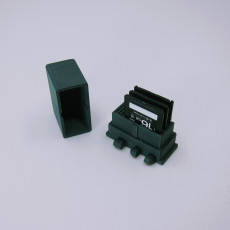 Picture of print of Polypanels SD Card Holder