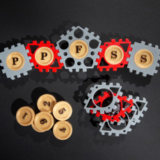 Multilingual Lettering for Polypanel Face-Snap System (#PPFSS)