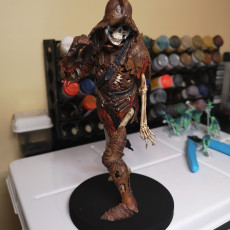 Picture of print of Evil Skeleton Knight