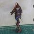 Evil Skeleton Knight print image