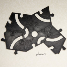 Picture of print of Polypanel Penrose Puzzle