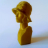 YoungLadySculptureScan image