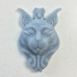 ornate cat print image