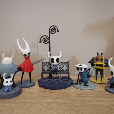 Picture of print of Hollow Knight: Quirrel