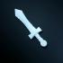 D&D miniature Sword image