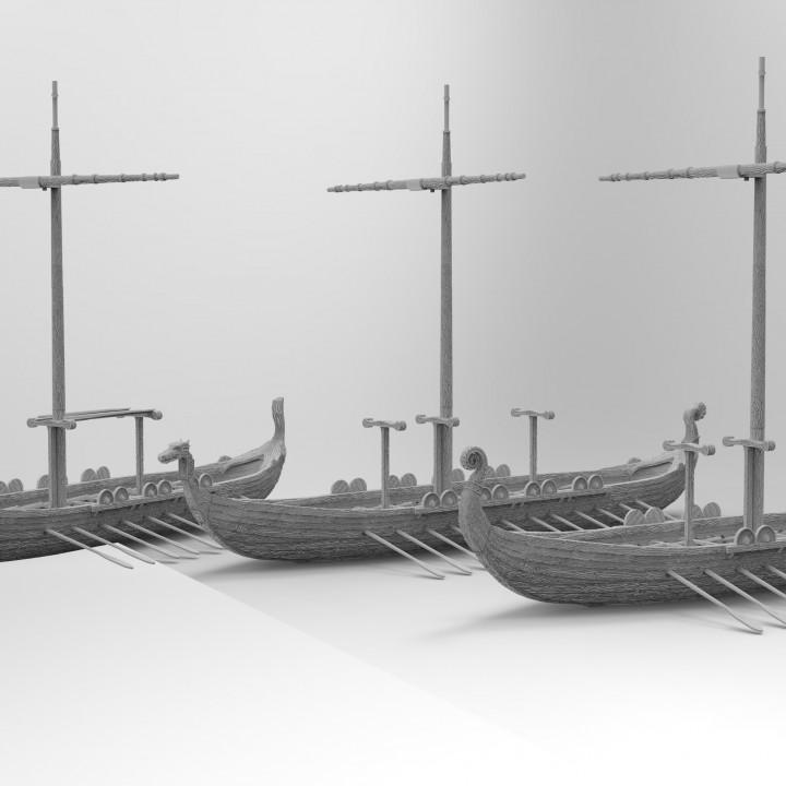 Modular Viking Longship