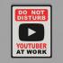 Youtuber At Work image