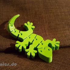Flexi Articulated Gecko