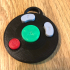 Gamecube Buttons Keychain image