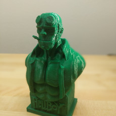 Picture of print of Hellboy Bust