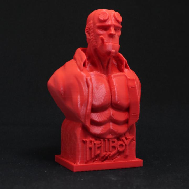 Hellboy Bust