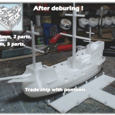 Merchant ship - 6 to 28mm sliced files !