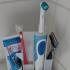 Toothbrush and razor holder image