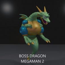 BOSS DRAGON MEGAMAN 2