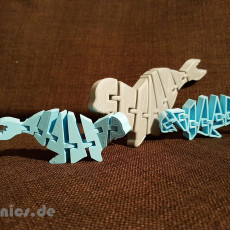 Flexi Articulated Mini Seadog / Seal Full