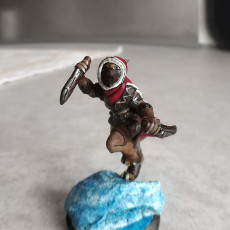 Picture of print of dragonborn thief run
