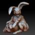 Monster easter bunny image