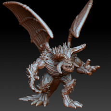 Winged greater demon