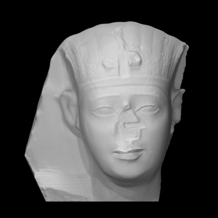 Head of King Nectanebo I or II