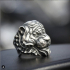 Tiger ring STL 3d model for 3d printing image