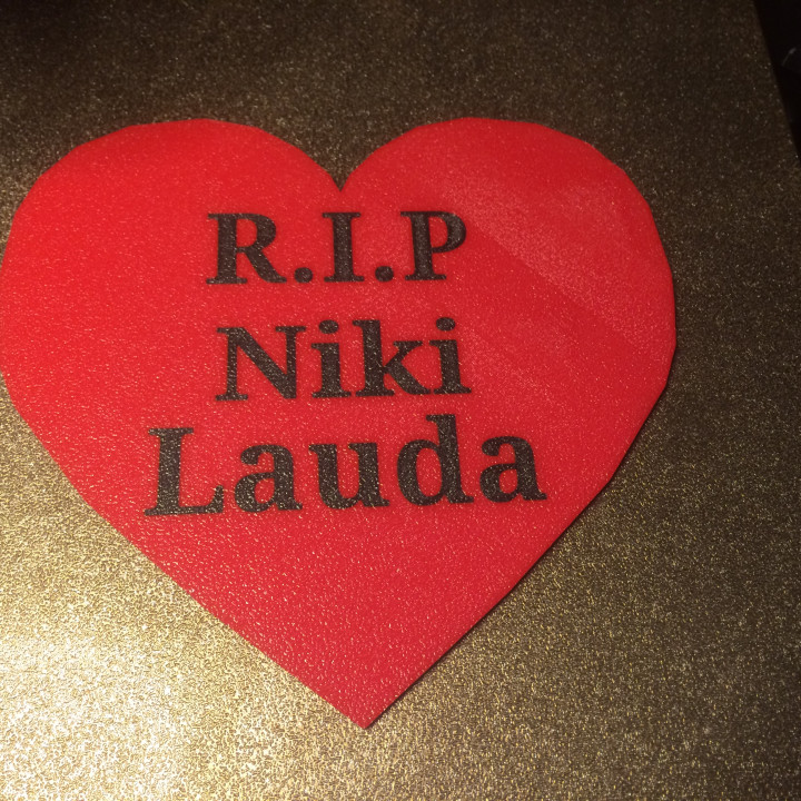 R.I.P Niki Lauda