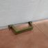Garage door handle - Agarrador para puerta de garaje - Critter Hitters image