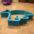 Fish With Legs Cookie Cutter image